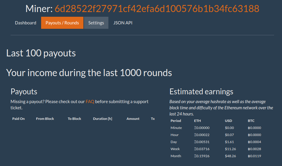 Mining Ethereum on Ubuntu with a GTX 1070