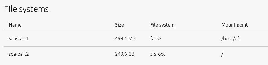 Deploying Ubuntu root on ZFS with MAAS | Ubuntu